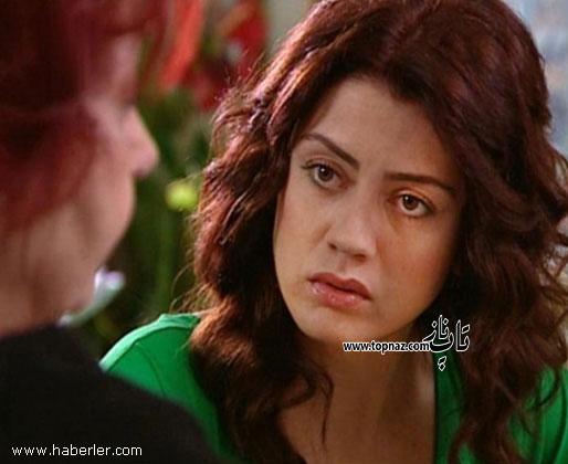گوکچه بهادر در نقش لیلا در سریال برگ ریزان