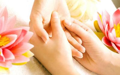 درمان اندام ها از کف دست