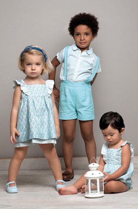 مدل لباس تابستانه دخترانه و پسرانه مارک