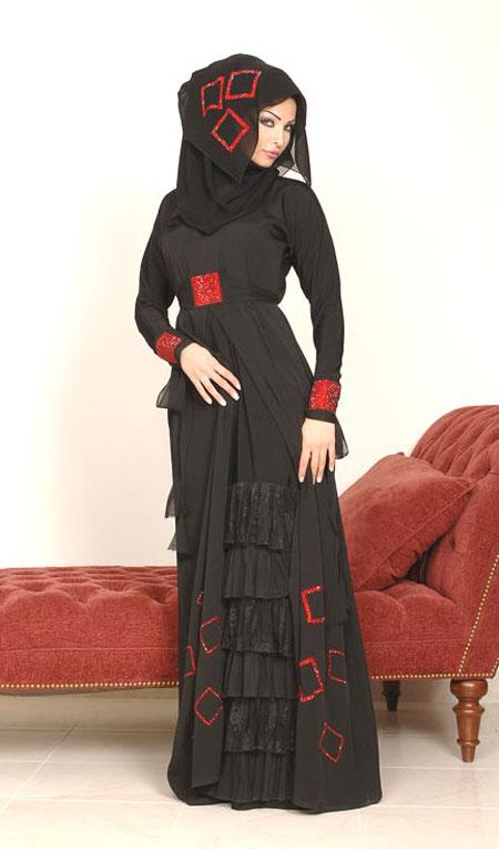 لباس و مانتو عربی 2014