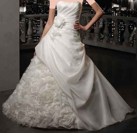 مدل زيبا و شيک لباس عروس اروپایی