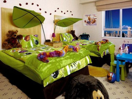دکوراسیون اتاق کودک,دکوراسیون اتاق دختر و پسر
