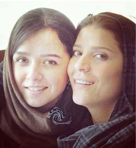 چهره بدون آرایش ترانه علیدوستی و سحر دولتشاهی