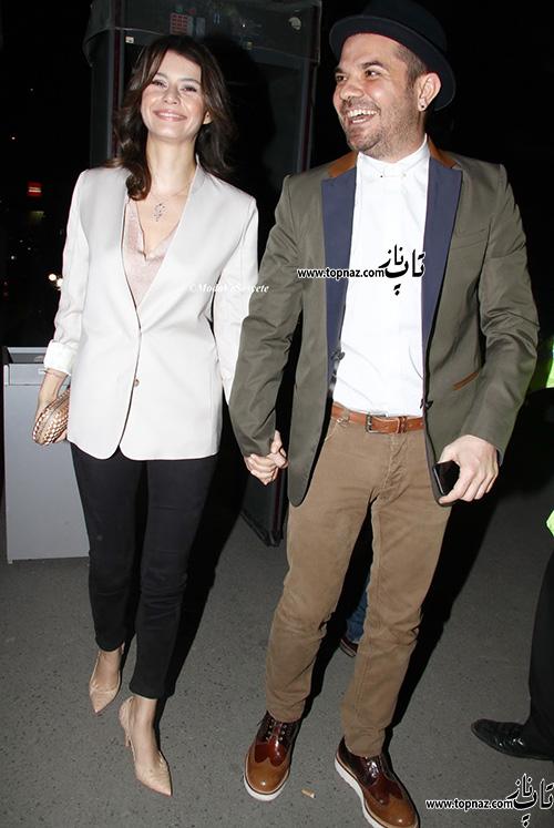 برن سات و همسرش