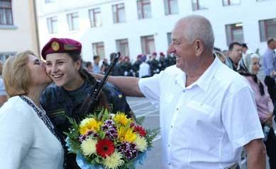عکس سربازان زن زیبای اوکراین