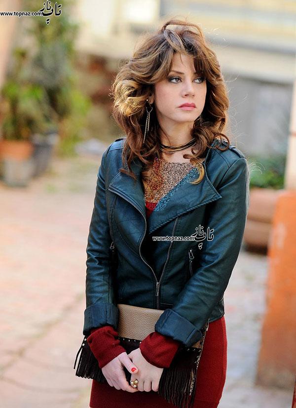 گوکچه بهادیر بازیگر نقش لیلا در سریال برگ ریزان