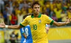 نیمار جوان کاپیتان برزیل شد