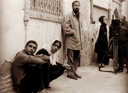 عکس ترانه علیدوستی و اصغر فرهادی در فیلم شهر زیبا