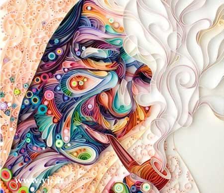 کشیدن نقاشی های زیبا با کمترین امکانات