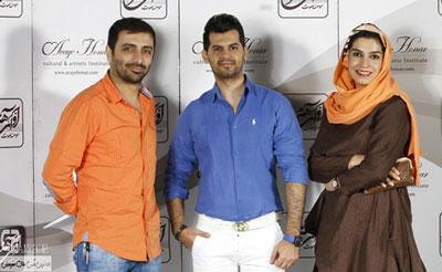 اخبار,اخبار فرهنگی,امین زندگانی و همسرش الیکا عبدالرزاقی در کنسرت شهاب رمضان