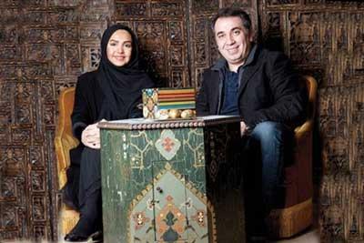 سیامک انصاری و همسرش از زندگی عاشقانه می گویند +عکس