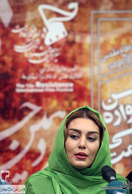 سحر قریشی در جشنواره فیلم
