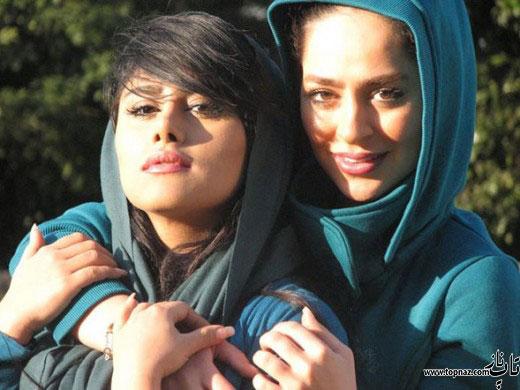 سمانه پاکدل و خواهرش