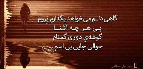 اشعار تصویری زیبا و عاشقانه از شاعران معروف