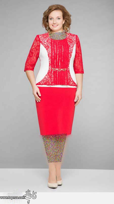 فروش لباس مجلسی سایز بزرگ