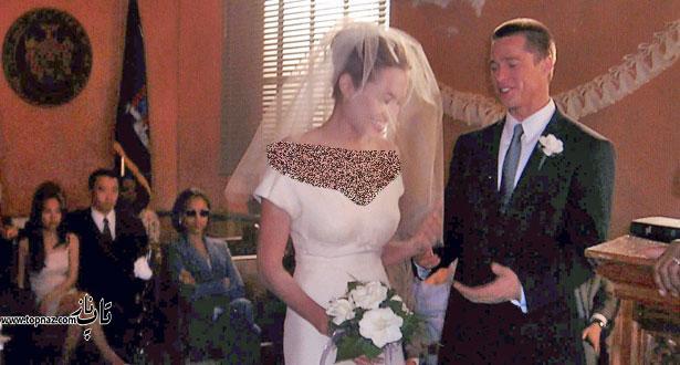 مراسم عروسی آنجلینا جولی و برد پیت