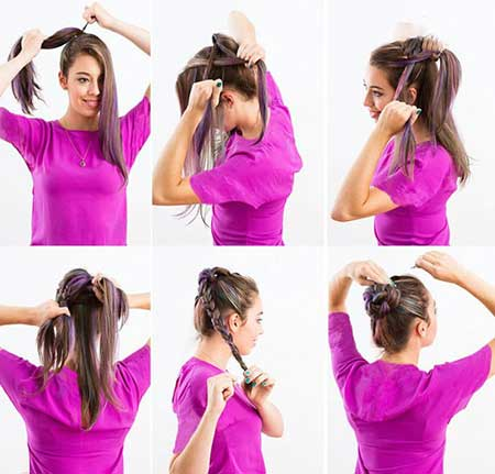 8 شیوه برای بافت مو