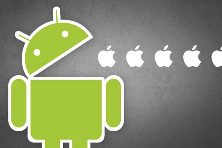 ده ویژگی برتر اندروید به آی او اس iOS