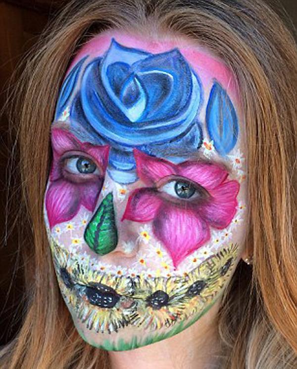 عکس دختر هنرمند