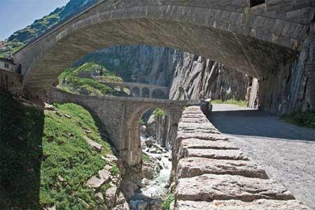 پل شیطان در سوئیس,تصلویر پل شیطان در پل شیطان در سوئیس