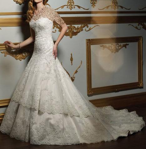 lebas aroos 20sh 2 2 مدل لباس عروس فوق العاده باکلاس