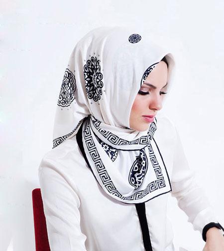 مدل شال و روسری مارک دار ترکی