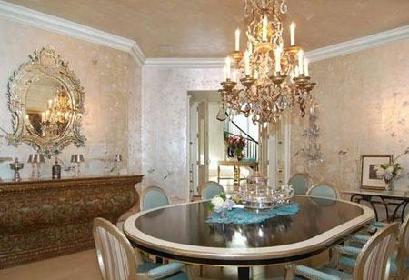 لوکس ترین چیدمان خانه,دکوراسیون خانه خواننده مشهور