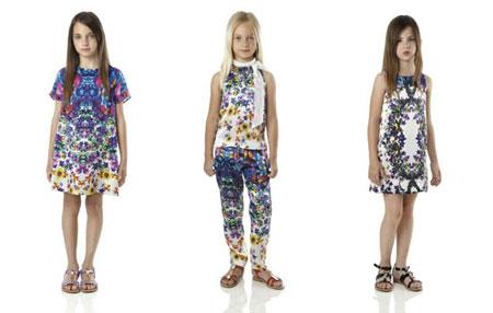 لباس دخترانه روبرتو کاوالی,لباس دخترانه برند Roberto Cavalli