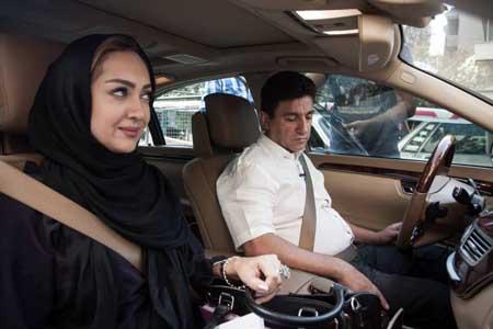 نیکی کریمی در خودرو میلیاردی امیر قلعه نوعی + عکس