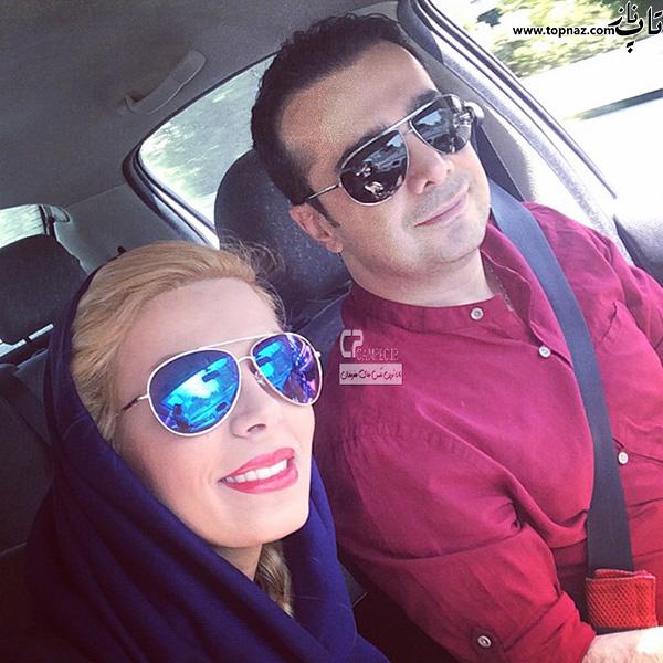 سپند امیر سلیمانی و همسرش