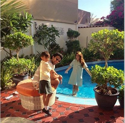 عکس منزل فرهاد مجیدی در دبی