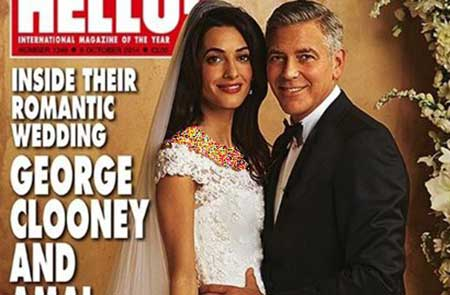 جرج کلونی و همسر لبنانی اش
