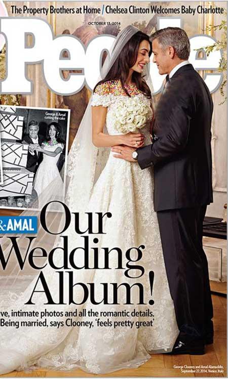 اخبار,اخبار فرهنگی ,مراسم ازدواج جرج کلونی