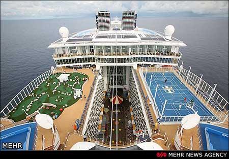 اخبار,اخبار گوناگون ,بزرگترین کشتی تفریحی جهان
