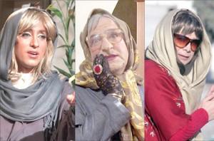 بازیگران مرد ایرانی که در نقش زن حاضر شدند! +عکس