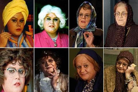 اخبار,اخبار فرهنگی,بازیگران مرد در نقش زن