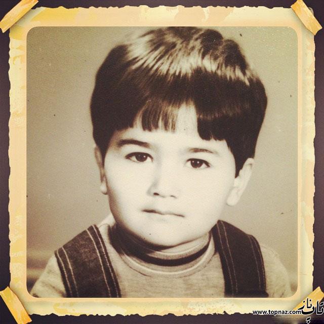عکس کودکی آنا نعمتی