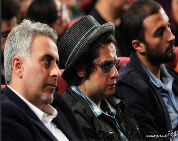 Ekran-Film Tabaعکس بازیگران در مراسم اکران فیلم ساکن طبقه وسط)