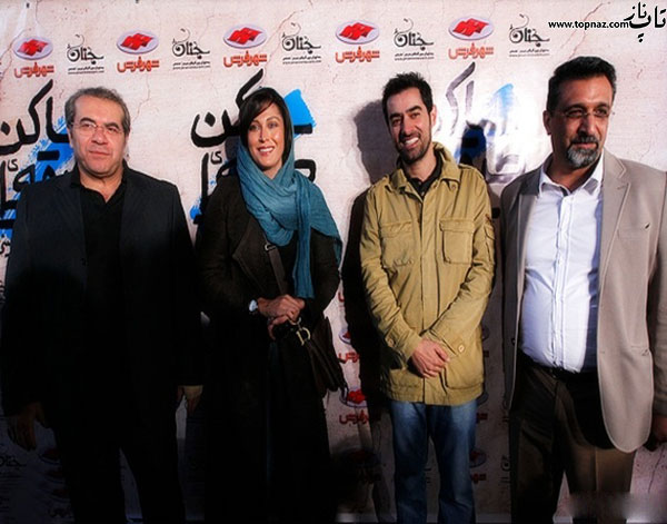 عکس بازیگران در مراسم اکران فیلم ساکن طبقه وسط