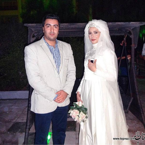 پریناز ایزدیار در لباس عروس