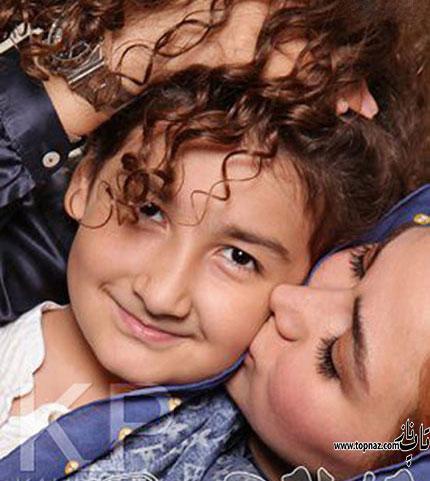 عکس دختر آنا نعمتی و شباهت جالب به مادرش