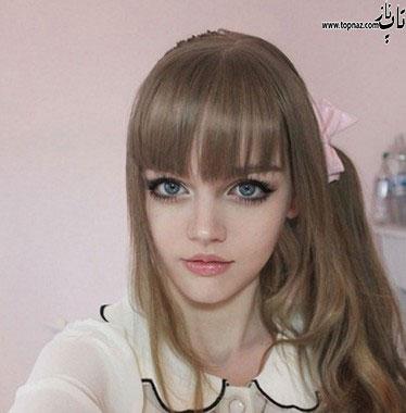 عکس دختر عروسکی شبیه به باربی