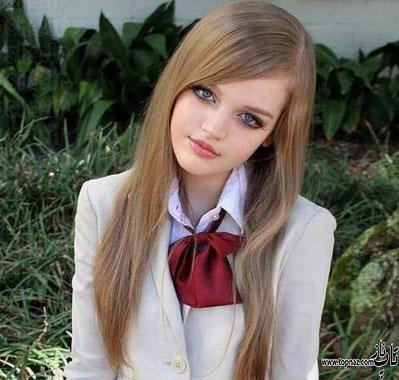 عکس دختر شبیه به باربی