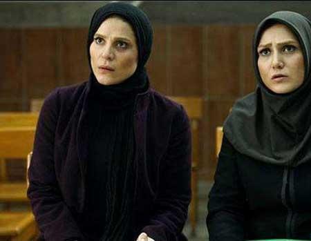 عکس باران کوثری و سحر دولتشاهی در فیلم مستانه