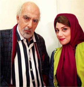 شبنم مقدمی در نقش دختر بهنام تشکر در سریال ابله