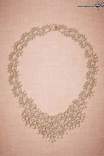 مدل گردنبند عروس 2015
