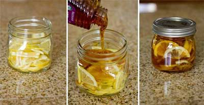 با عسل و زنجبیل و لیموترش درد گلو را درمان کنید