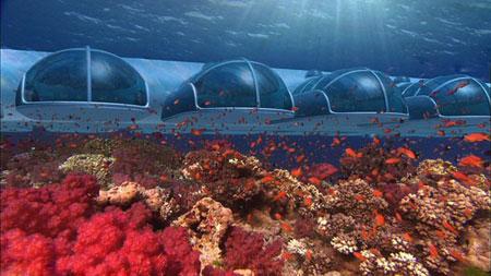 تصاویر دیدنی هتل های زیر آبی دنیا