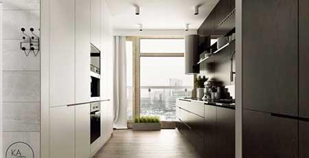 طراحی جدیدترین آشپزخانه ها,شیک ترین خانه های 2014