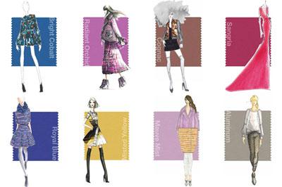 ده ست لباس رنگی مناسب پاییز